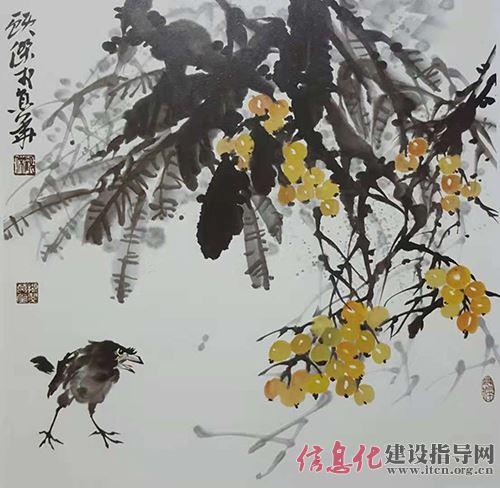 中国国画院副院长 著名画家顾杰